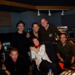 "In studio with Drew - ""Grey Gardens"""