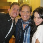 "with Jenna and Channing Tatum - ""The Vow"" set"