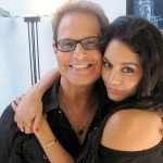 "Rehearsing with Vanessa Hudgens for ""RENT"""
